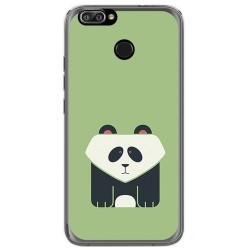 Funda Gel Tpu para Oukitel U22 Diseño Panda Dibujos