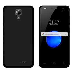 Funda Gel Tpu para Homtom HT26 Color Negra