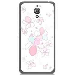 Funda Gel Tpu para Alcatel A2 Xl Diseño Flores Dibujos