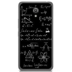 Funda Gel Tpu para Alcatel A2 Xl Diseño Formulas Dibujos