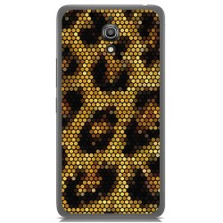 Funda Gel Tpu para Alcatel A2 Xl Diseño Leopardo Dibujos