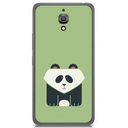 Funda Gel Tpu para Alcatel A2 Xl Diseño Panda Dibujos