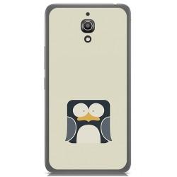Funda Gel Tpu para Alcatel A2 Xl Diseño Pingüino Dibujos