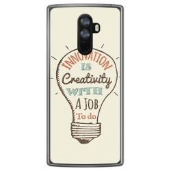 Funda Gel Tpu para Doogee Mix 2 Diseño Creativity Dibujos