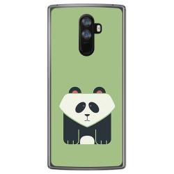 Funda Gel Tpu para Doogee Mix 2 Diseño Panda Dibujos