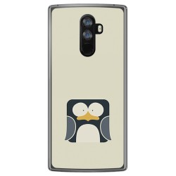 Funda Gel Tpu para Doogee Mix 2 Diseño Pingüino Dibujos