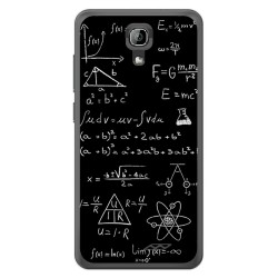 Funda Gel Tpu para Homtom HT26 Diseño Formulas Dibujos