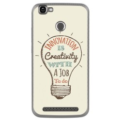 Funda Gel Tpu para Homtom HT50 Diseño Creativity Dibujos