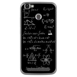 Funda Gel Tpu para Homtom HT50 Diseño Formulas Dibujos