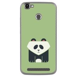 Funda Gel Tpu para Homtom HT50 Diseño Panda Dibujos