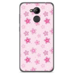 Funda Gel Tpu para Huawei Honor 6C Pro Diseño Flores Dibujos