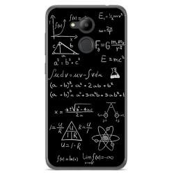 Funda Gel Tpu para Huawei Honor 6C Pro Diseño Formulas Dibujos