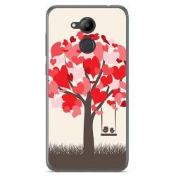 Funda Gel Tpu para Huawei Honor 6C Pro Diseño Pajaritos Dibujos