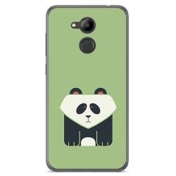 Funda Gel Tpu para Huawei Honor 6C Pro Diseño Panda Dibujos