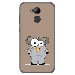 Funda Gel Tpu para Huawei Honor 6C Pro Diseño Toro Dibujos