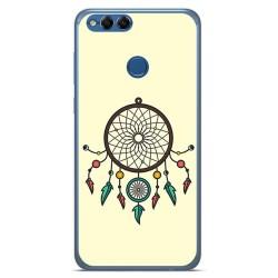 Funda Gel Tpu para Huawei Honor 7X Diseño Atrapasueños Dibujos