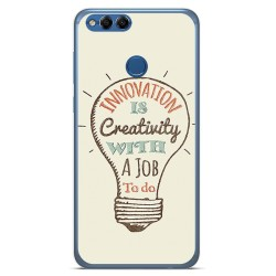 Funda Gel Tpu para Huawei Honor 7X Diseño Creativity Dibujos