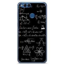 Funda Gel Tpu para Huawei Honor 7X Diseño Formulas Dibujos