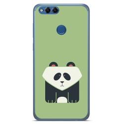 Funda Gel Tpu para Huawei Honor 7X Diseño Panda Dibujos