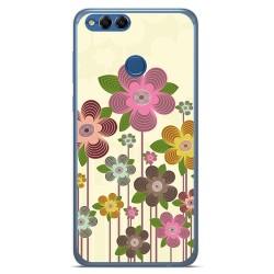 Funda Gel Tpu para Huawei Honor 7X Diseño Primavera En Flor Dibujos