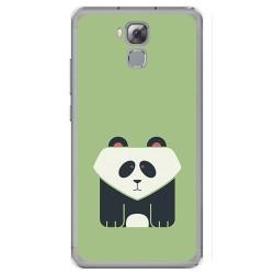 Funda Gel Tpu para Oukitel U16 Max Diseño Panda Dibujos