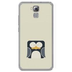 Funda Gel Tpu para Oukitel U16 Max Diseño Pingüino Dibujos