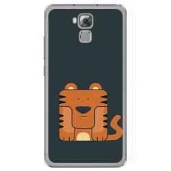 Funda Gel Tpu para Oukitel U16 Max Diseño Tigre Dibujos