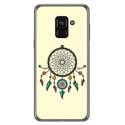 Funda Gel Tpu para Samsung Galaxy A8 (2018) Diseño Atrapasueños Dibujos