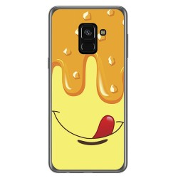 Funda Gel Tpu para Samsung Galaxy A8 (2018) Diseño Helado Vainilla Dibujos