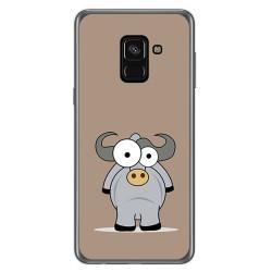 Funda Gel Tpu para Samsung Galaxy A8 (2018) Diseño Toro Dibujos