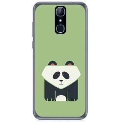 Funda Gel Tpu para Cubot X18 Diseño Panda Dibujos