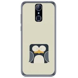 Funda Gel Tpu para Cubot X18 Diseño Pingüino Dibujos
