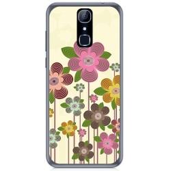 Funda Gel Tpu para Cubot X18 Diseño Primavera En Flor Dibujos