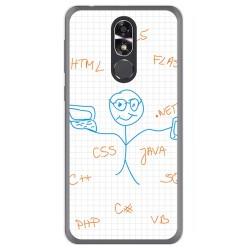 Funda Gel Tpu para Cubot R9 Diseño Informatico Dibujos
