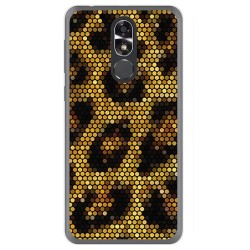 Funda Gel Tpu para Cubot R9 Diseño Leopardo Dibujos