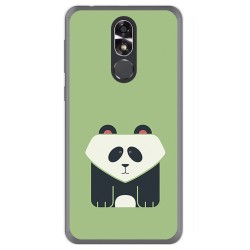 Funda Gel Tpu para Cubot R9 Diseño Panda Dibujos