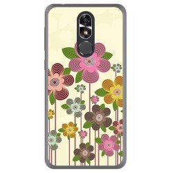 Funda Gel Tpu para Cubot R9 Diseño Primavera En Flor  Dibujos