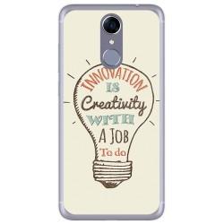 Funda Gel Tpu para Cubot Note Plus Diseño Creativity Dibujos
