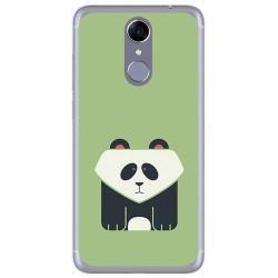Funda Gel Tpu para Cubot Note Plus Diseño Panda Dibujos