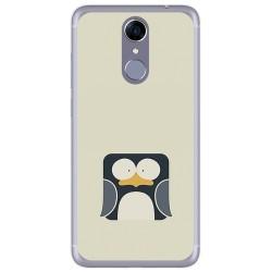 Funda Gel Tpu para Cubot Note Plus Diseño Pingüino Dibujos