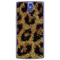 Funda Gel Tpu para Doogee Bl7000 Diseño Leopardo Dibujos