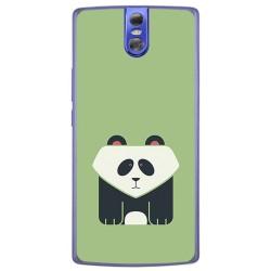Funda Gel Tpu para Doogee Bl7000 Diseño Panda Dibujos