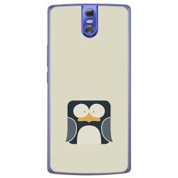 Funda Gel Tpu para Doogee Bl7000 Diseño Pingüino Dibujos