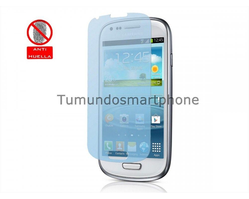 3 X Protector Pantalla Anti-Glare Samsung Galaxy S3 Mini I8190