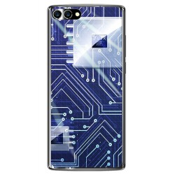 Funda Gel Tpu para Homtom S9 Plus Diseño Circuito Dibujos