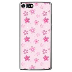 Funda Gel Tpu para Homtom S9 Plus Diseño Flores Dibujos