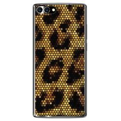 Funda Gel Tpu para Homtom S9 Plus Diseño Leopardo Dibujos