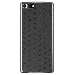 Funda Gel Tpu para Homtom S9 Plus Diseño Metal Dibujos