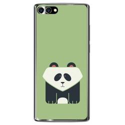 Funda Gel Tpu para Homtom S9 Plus Diseño Panda Dibujos