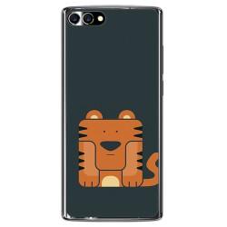 Funda Gel Tpu para Homtom S9 Plus Diseño Tigre Dibujos